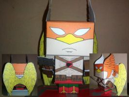 Cubeecraft Hawkman Completed by handita2006