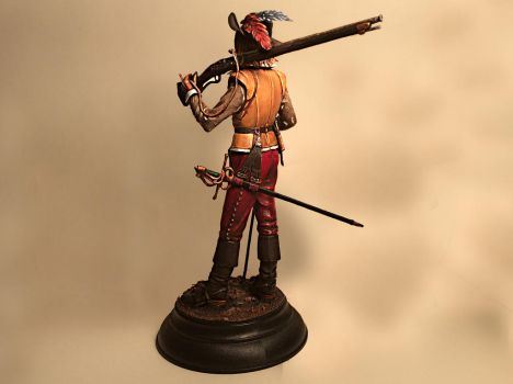 Imperial musketeer 17th century by UnderclassArtist