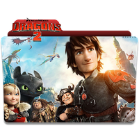 How to train Your dragon 2 Folder Icon by Omegas82128