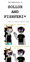 Sollux and Fishferi by fwabio