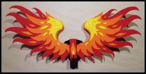 Flame Wings by CraftyWingy