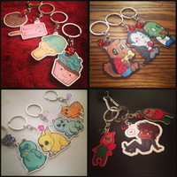 AnimeNEXT: Charms by Pyratesque
