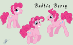 Pinkie Pie Stallion(a.k.a. Bubble Berry) by IIAmethystSkyII