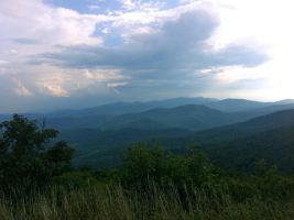 Shenandoah Mountains by RTurley
