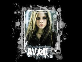 Avril Lavigne Paint by MoonlightKeeper