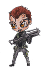 Chibi Adam by Psycho-o-Aciid