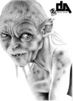 Gollum by DurimAzemi