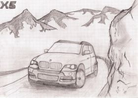 BMW X5 by nine2doubleJ