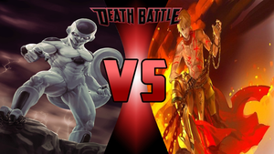 Frieza vs Gilgamesh by Dynamo1212