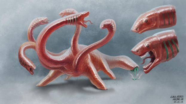 Wormhydra by giantwood