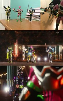 Ex-Aid Opening Recreation (attempt) by SentaiFive