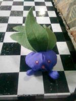 043 Oddish plush by xmorris33