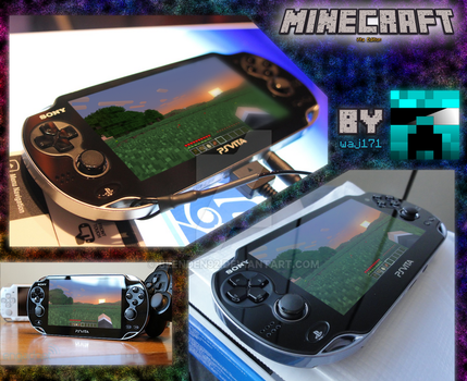 Minecraft on PS vita by Blenden92