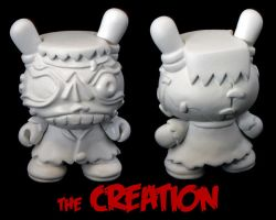 Dunny Monster : DIY The Creation by zombiemonkie