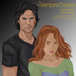 Connections-Fan Fiction Cover-Leila and Damon by Realm1993