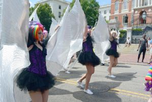 2015 Boston Pride Parade, Fly Like A Butterfly by Miss-Tbones