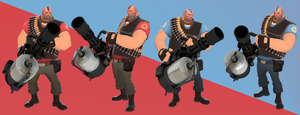 Balima Team Fortress 2 Heavy Costume by Habboi