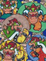 Bowser mania! by MarioGamer2000