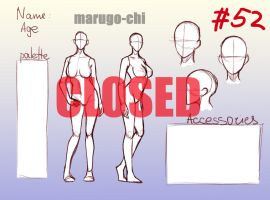 REFERENCE YCH #52  [CLOSED] by marugo-chi