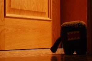 Domo-Kun in my room by D3iv