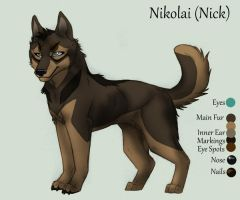 Nick 2011 REF Sheet by KasaraWolf