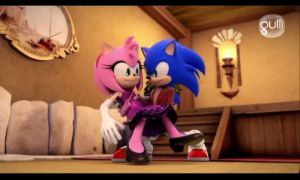 Sonic and Amy (sonic boom) by Sonamy115
