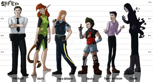 Shifted: The Whole Gang by Doodlee-a