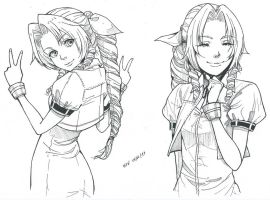 Aerith by redkojimax