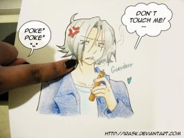 don t  touch me DX by irask