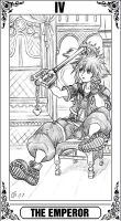 KH Tarot: The Emperor by Autumn-Sacura