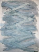Blue Abstract Variables by NewYorkArtistFrancis