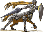Centaur Armored by KukuruyoArt
