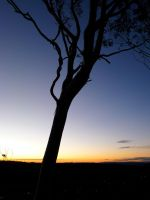 Sunset over Oberon. by Geoperno
