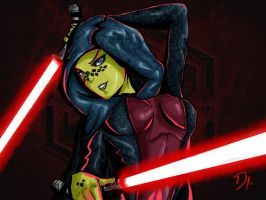 Barriss Offee - I think they suit me... by 18Vortex
