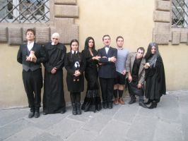 Addams family cosplayers by J4smin85