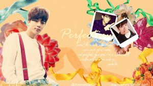 Youngjae Perfection Wallpaper [sizes available] by Love-and-Blades