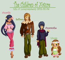The Children of nature by Loveyraspberry
