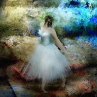 One Ballerina by SharonLeggDigitalArt