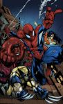 Avenging Spider-man by Joe Madureira by pogzki