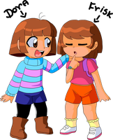 That is why I think Frisk is a girl by Carol-aredesu