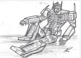 Optimus SEXY Prime by supercarXS