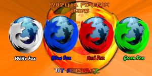 Mozilla FireFox Icons by shintalz