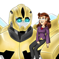 Request Bumblebee and Mary by japanindisguise