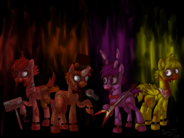 five nights at freddy's by Nax34