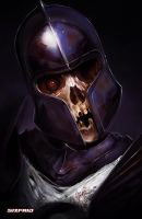 Skull Knight 2 by sixfrid