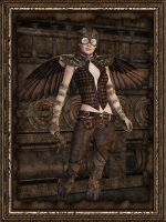 Steampunk D.I.Y. Avenger by parrotdolphin