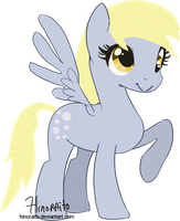 MLP FIM: Project 1000 ponies - Derpy by hinoraito