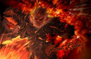 Ghost Rider by CloudDozyo