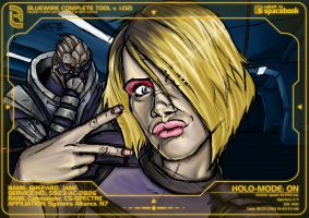 Mass Effect: Jammy and Garrus by ZolaPaulse