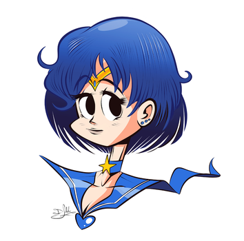 Sailor Mercury by Themrock